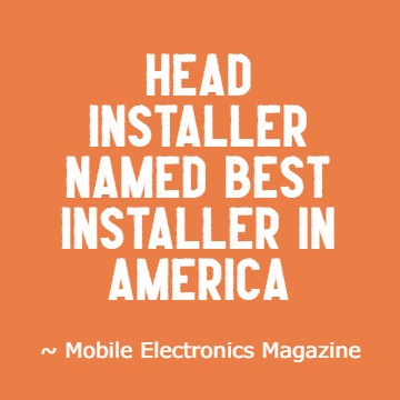 Lead technician is number one installer in america