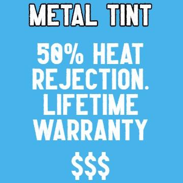 Metal films with lifetime warranty
