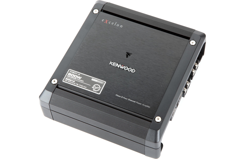 Kenwood X301-4 - Class D 4-Channel Power Amplifier - 4