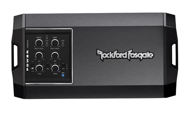 Compact form 400 Watt Class-AD 4-Channel Amplifier - Custom