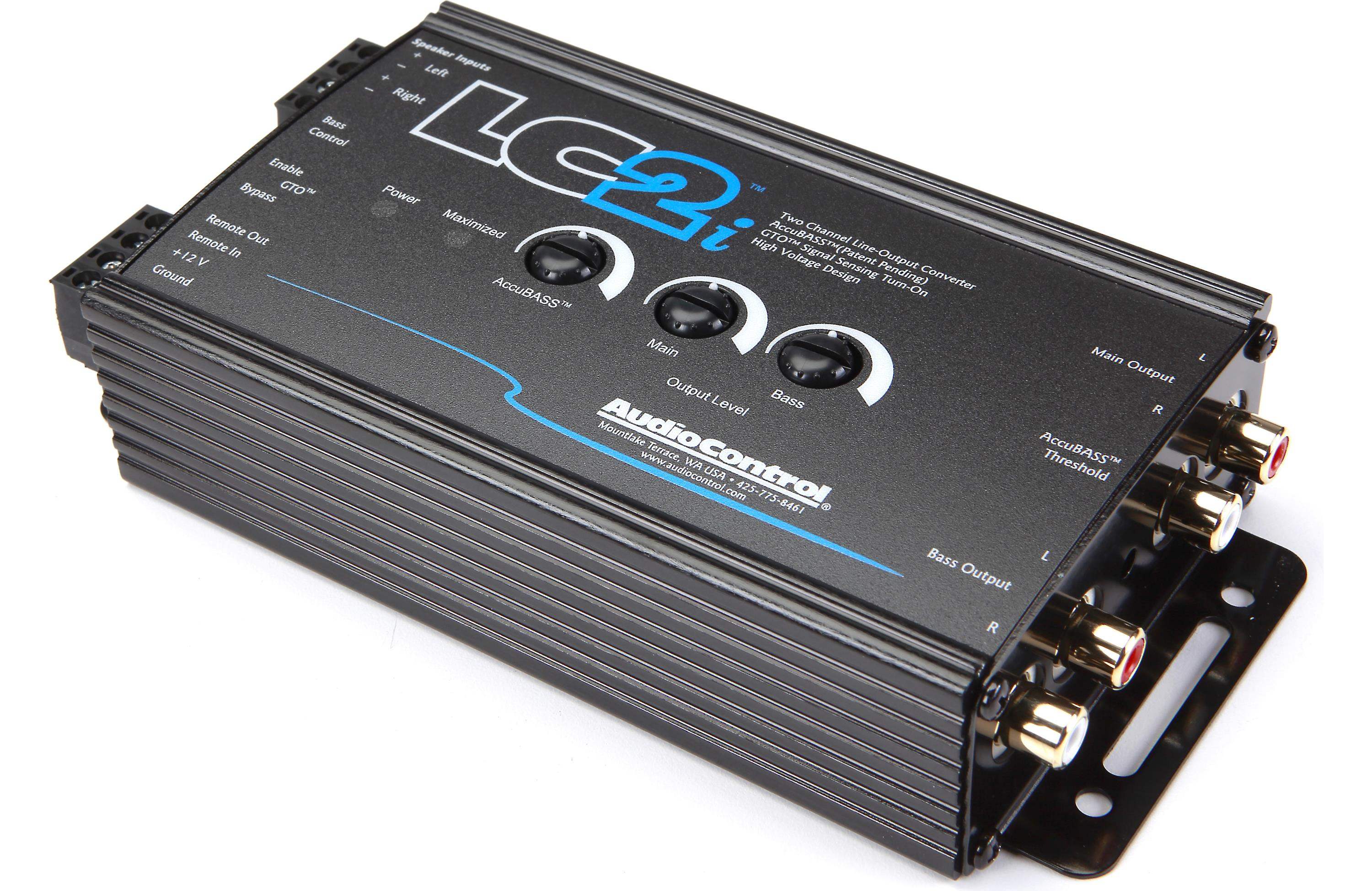Audiocontrol Lc2i 2 Channel Line Out Converter Wwith Manual Guide