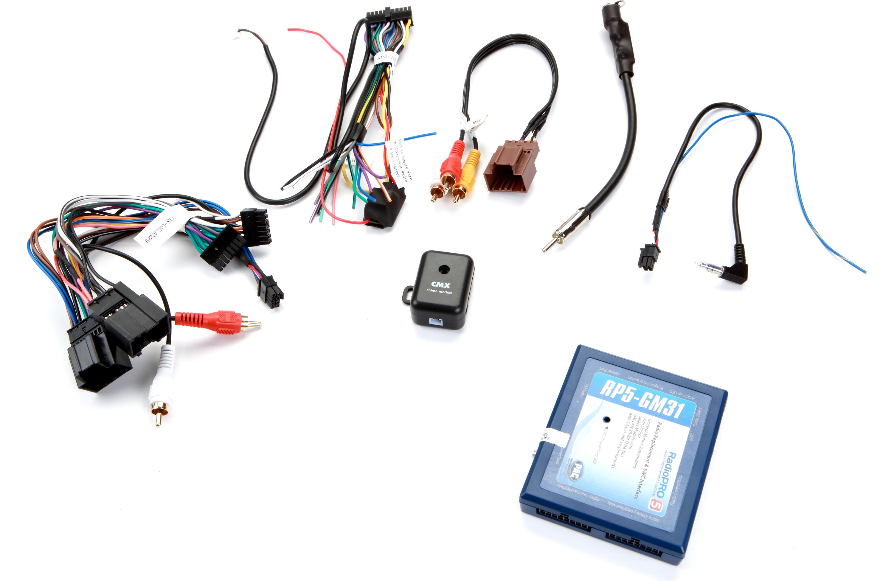PAC RP5-GM31 - RadioPRO Radio Replacement Interface with