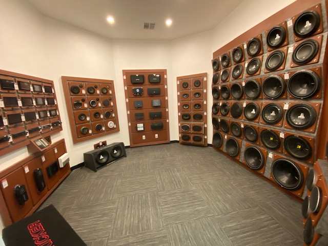 State of the art sound rooms