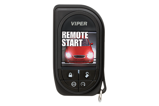 2 way remote start and alarm for cars with LCD display